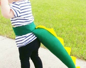 Dinosaur Tail For Dress Up Pretend Play Costume Using Felt From 100% Recycled Plastic Bottles Party Favors Adjustable Waist