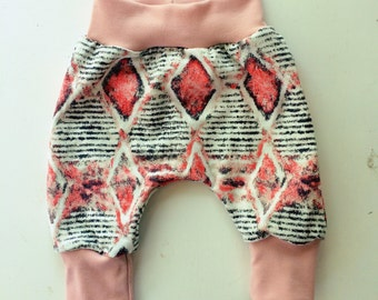 Mommy and Me Set ~ Harem lounge pant and a matching mommy headband