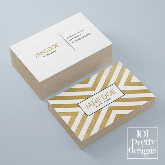 Golden business card template elegant business card design gold il570xn colourmoves