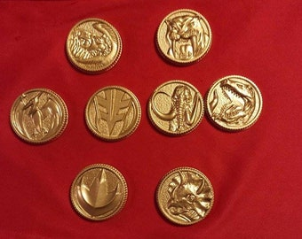 Mighty Morphin Power Rangers coins Singles