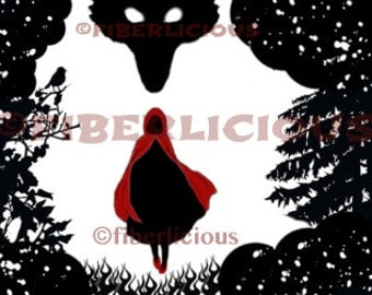 Red Riding Hood - Counted Cross Stitch Pattern