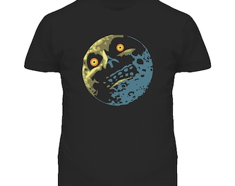 The Legend Of Zelda Majoras Mask Moon T Shirt