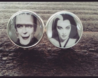 Lily and Herman Stud Earrings