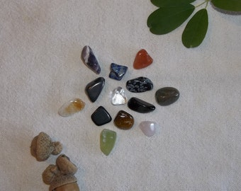 Stone Divination Set- Fortune Telling, Casting Stones