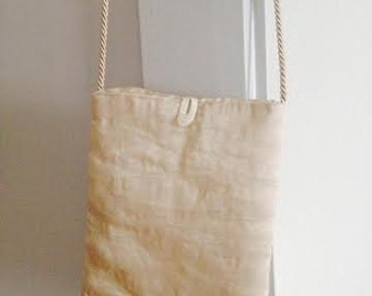 """small bag in precious fabric called """"steel"""""""