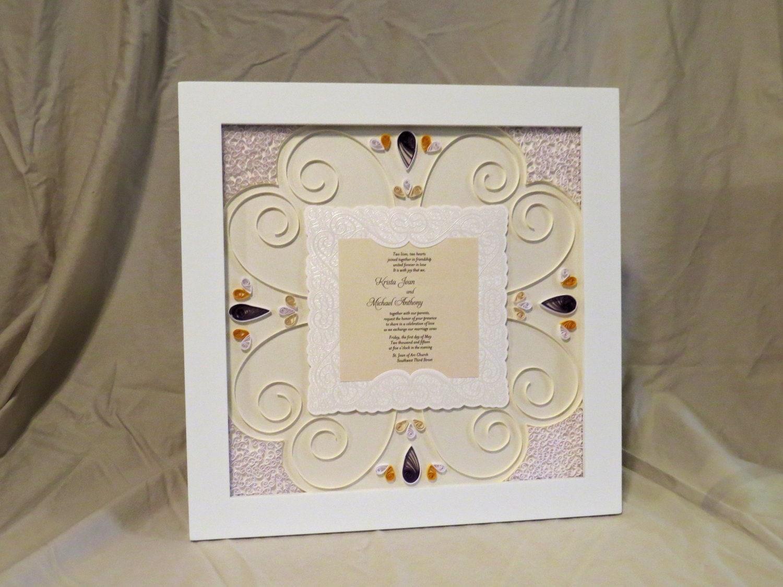 personalized wedding invitation keepsake - 28 images - invitation ...