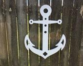 LARGE Coastal Nautical Anchor for your Beach Seashore House Indoor / Outdoor