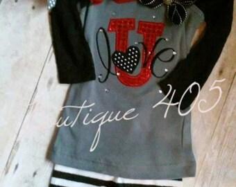 Love U applique, Valentines Day Embroidery, Embroidery saying, socuteappliques, heart embroidery, love embroidery, love you heart applique