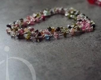 Bracelet Tourmaline Rozario Chain