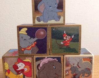 Dumbo storybook blocks