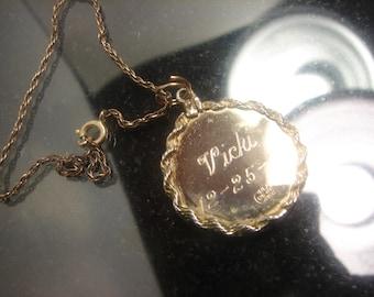 1960 Crea 12kt GF charm and Bracelet 374
