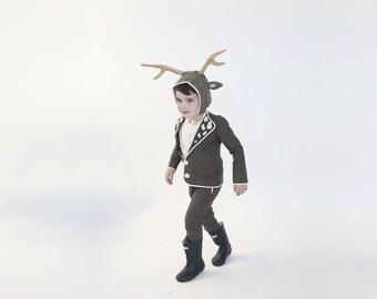 Deer costume, Halloween costume, Boys deer costume, Halloween costumes, Halloween children costume, kids boys costume, toddler costume, Xmas
