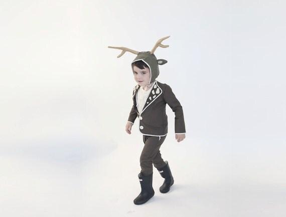 kids halloween costume deer boy