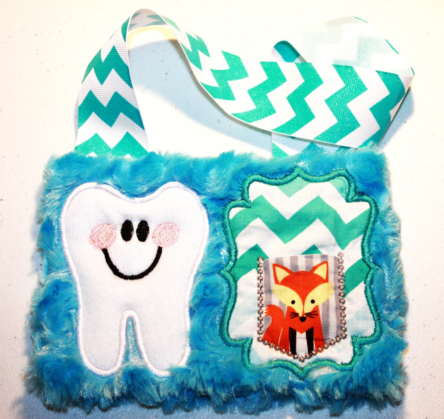 Tooth fairy pillow in the hoop design dst exp hus jef pes