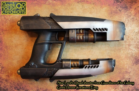 how to make a gaurdians of the galaxy gun