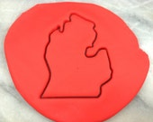 Michigan Cookie Cutter Outline - SHARP...