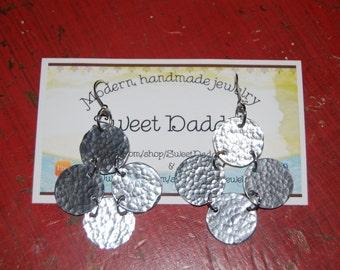 Cuatro (Four disks) earrings