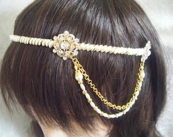 Wedding Bridal Headband Vintage Inspired