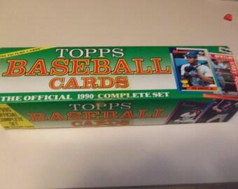 1990 Topps baseball set