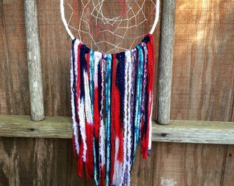 """Red, White and Blue Dreamcatcher 8"""""""