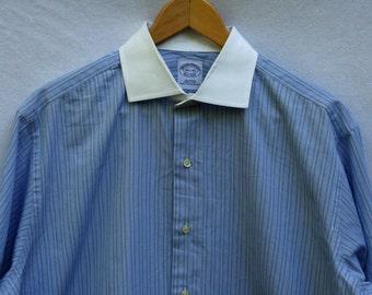 "Brooks Brothers Men's Long Sleeve Shirt 16.5""/33"""