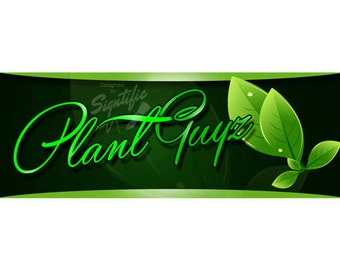Custom Landscaping Logo, Lawn care Business Logo, design, Small Business Logo, Green Leaves Logo, Premade Logo Design, Business Sign Logo