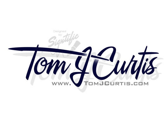 custom signature logo name logo design business brand logo