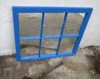 Reclaimed window mirror