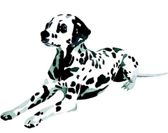 Dalmatian Print 093