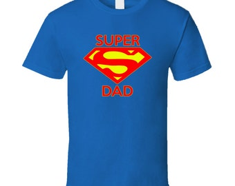 A Super Dad Vintage look T Shirt for Dad Papa Grandpa Son Brother Christmas gift Father's Day T Shirt Gift