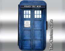Tardis Leather Flip Case, Dr. Who Inspired Wallet Case,  Samsung Galaxy 3/4/5/6, Iphone 5S/5c/6/6 Plus
