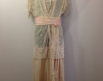 Handmade Vintage lace dress