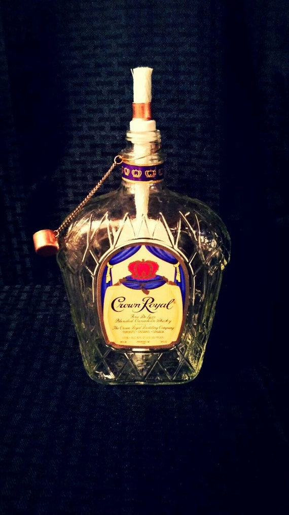 Crown Royal Tiki Torch For Outdoors
