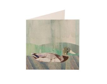 Textured Duck Card (blank inside)