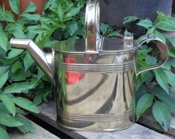 Vintage Brass Hot Water Carrier,Vintage Brass Watering Can