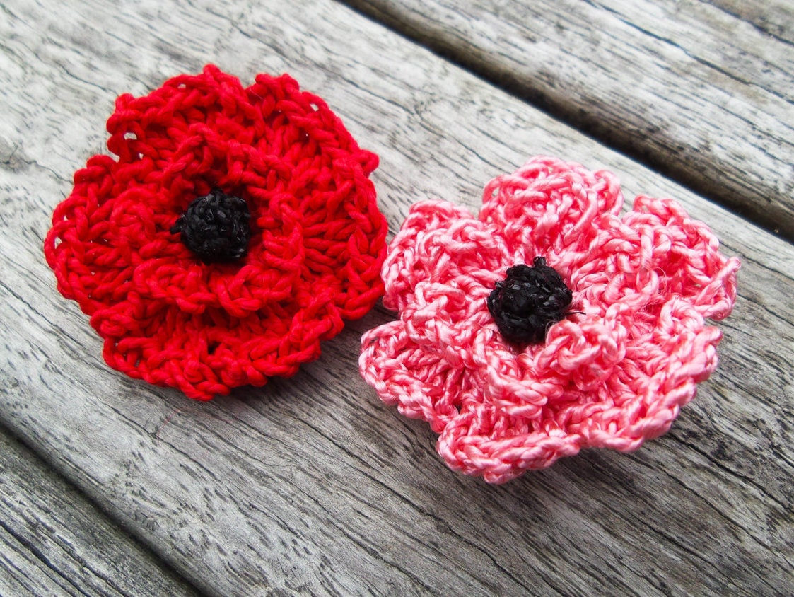 Statement Lapel Pin Red Lapel Flower Red Suit Pin Red