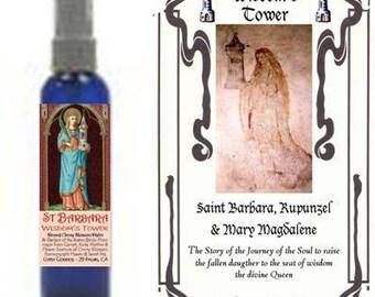 ST BARBARA Wisdom's Tower Water & Booklet by Gypsy Goddess