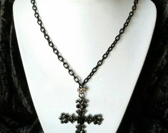 Black on Black Cross
