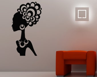 Hair Salon beauty parlor Perfect Hair Haircut Hairstyle Salon beauty shop cosmetic treatments Wall Stickers Decal For Your Business 3329