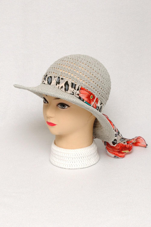 gray sun hat summer hat wide brim hat womens hats by