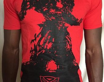 Transformers tshirt Optimus Prime t-shirt age of extinction tee