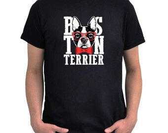 Boston terrier cool design T-Shirt
