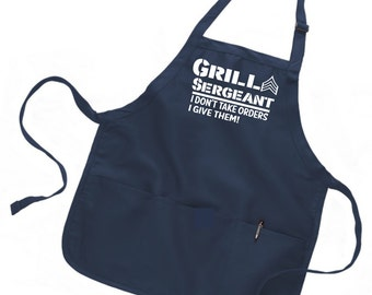 Mens grilling apron, mens apron, personalized apron men, personalized apron for men, personalized mens, Fathers day gift, gift for dad