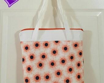 Sun Flowers Shoulder Purse or Lunchbox