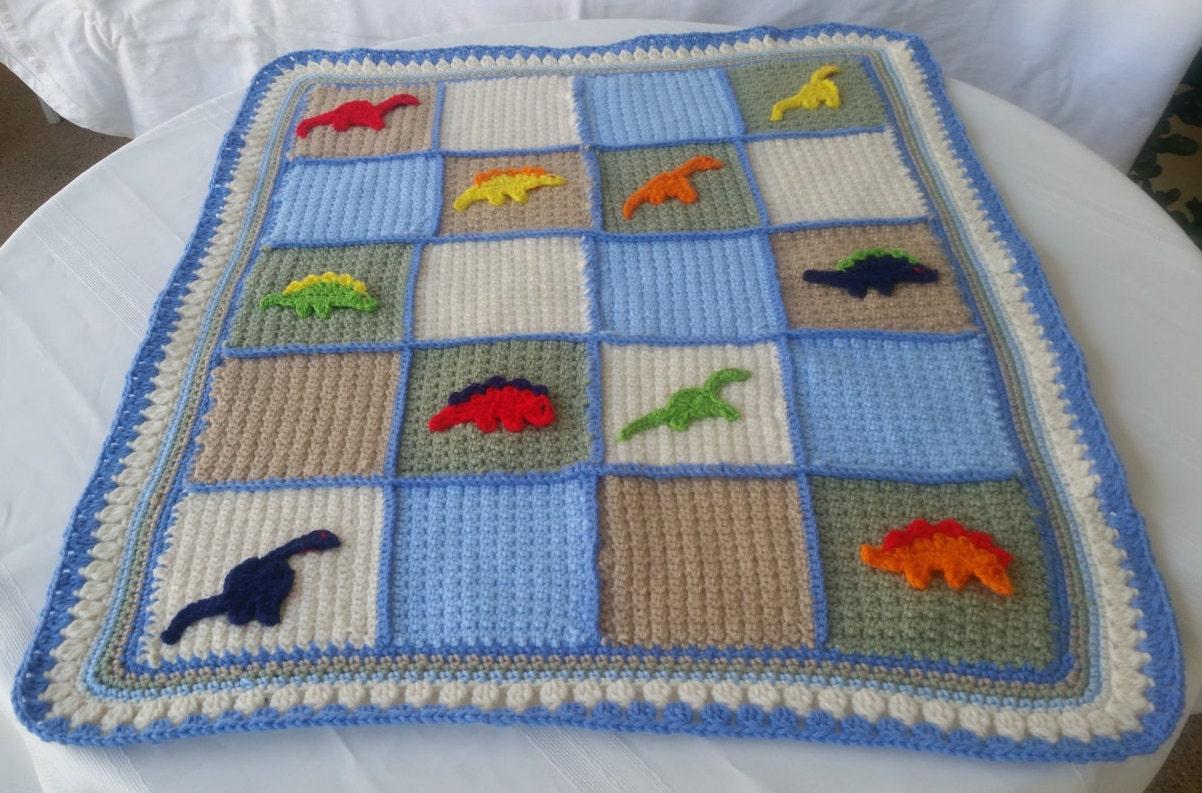 dinosaur blanket crochet dinosaur blanket dinosaur decor