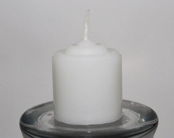 24 to 96 Unscented Votive Candles Bulk Option