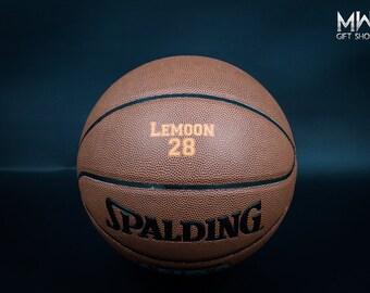 Personalized Basketball, Custom Basketball, Groomsmen Gift, High Shcool Basketball, College Basketball, Birthday Gift, Holiday Gift.