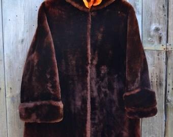 Moulton Lamb Swing Coat
