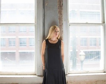 Black DropWaist Dress