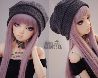 Slouchy Beanie / Hat - 2 COLORS - BJD 1/4 1/3 SD13 MSD Boy Girl